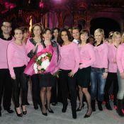Audrey Pulvar, Faustine Bollaert, une star de PBLV... : En rose contre le cancer