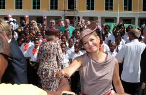 Royaux néerlandais : A Curaçao, la princesse Maxima poursuit son festival