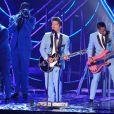 Bruno Mars aux MTV Europe Music Awards, à Belfast, le 6 novembre 2011.