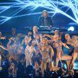David Guetta et Jessie J aux MTV Europe Music Awards, à Belfast, le 6 novembre 2011.