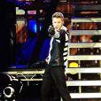 Justin Bieber aux MTV Europe Music Awards, à Belfast, le 6 novembre 2011.