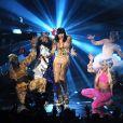 Jessie J. -  Price Tag , live aux MTV Europe Music awards, à Belfast, le 8 novembre 2011.