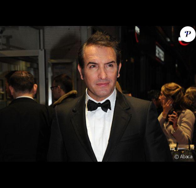 Jean Dujardin le 18 octobre 2011 à Londres.