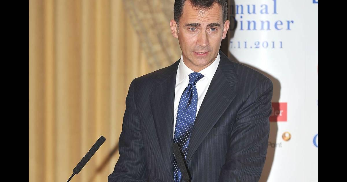 Felipe d 39 espagne assiste l 39 anniversaire de la chambre de - Chambre de commerce espagnole en france ...