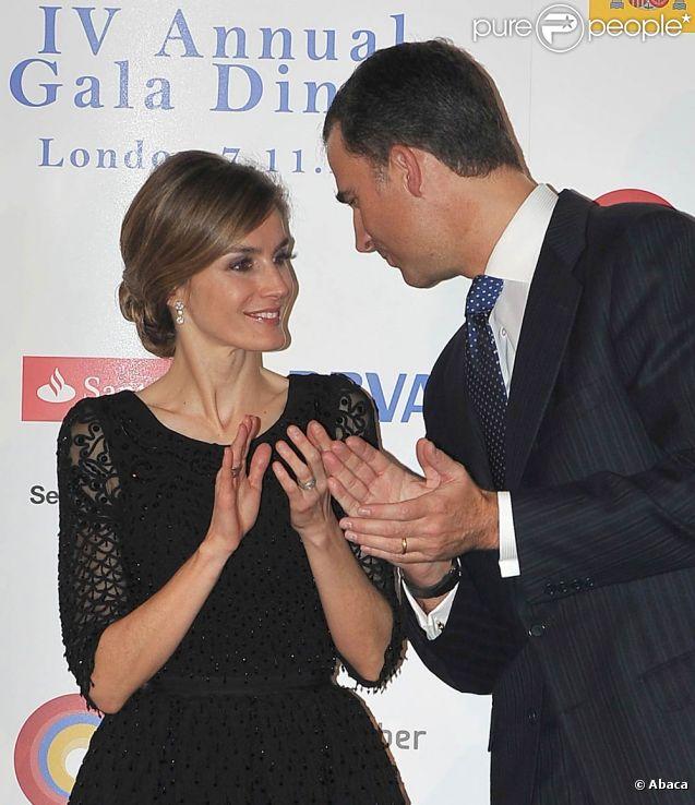 Letizia et felipe d 39 espagne el gante complicit londonienne for Chambre de commerce a londres