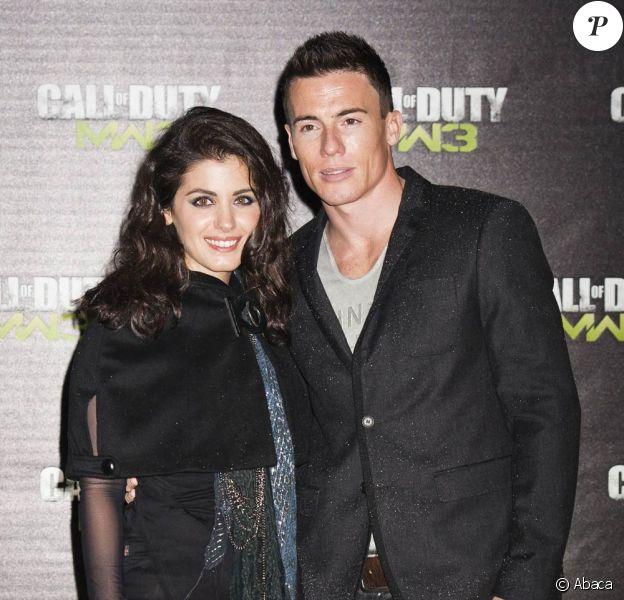 Katie Melua et son boyfriend James Toseland à la soirée de lancement de Call of Duty : Modern Warfare 3 à Londres le 7 novembre 2011.