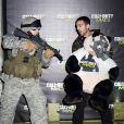 Dynamo à la soirée de lancement de  Call of Duty : Modern Warfare 3  à Londres le 7 novembre 2011.