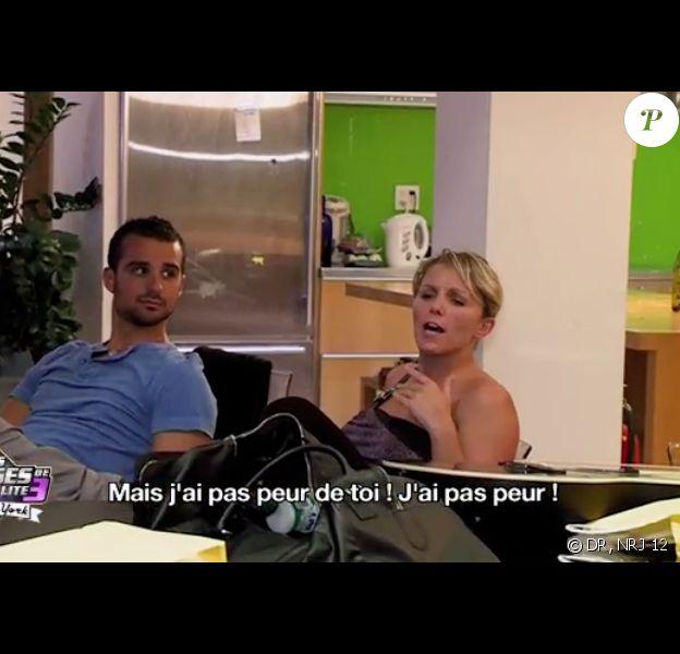 Benjamin et Myriam dans les Anges de la télé-réalité 3, mercredi 9 novembre 2011 sur NRJ 12