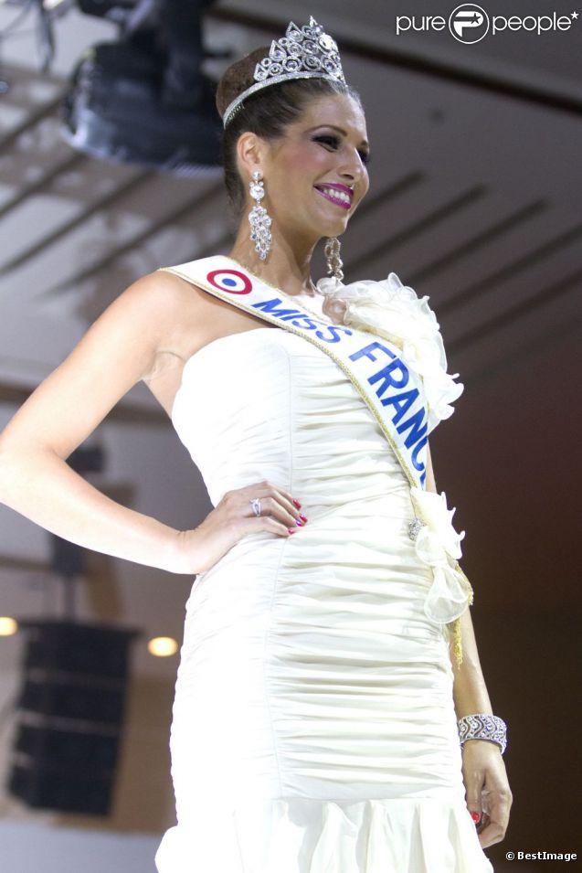 Laury Thilleman lors de la Nuit Miss France, à Mexico. Le 10 novembre 2011