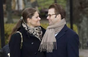 La princesse Victoria et Daniel éclipsent le scandale qui perturbe leur visite
