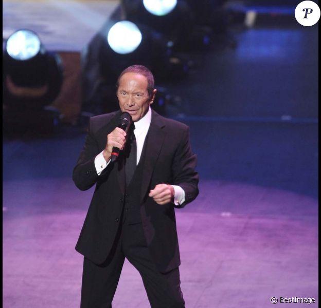 Paul Anka en concert à New York, le 14 février 2011.