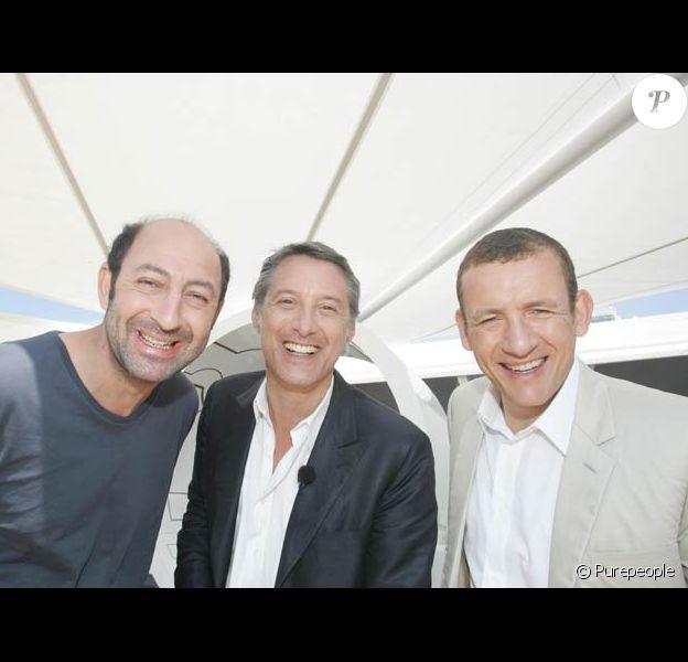 Antoine de Caunes, Kad Merad et Dany Boon