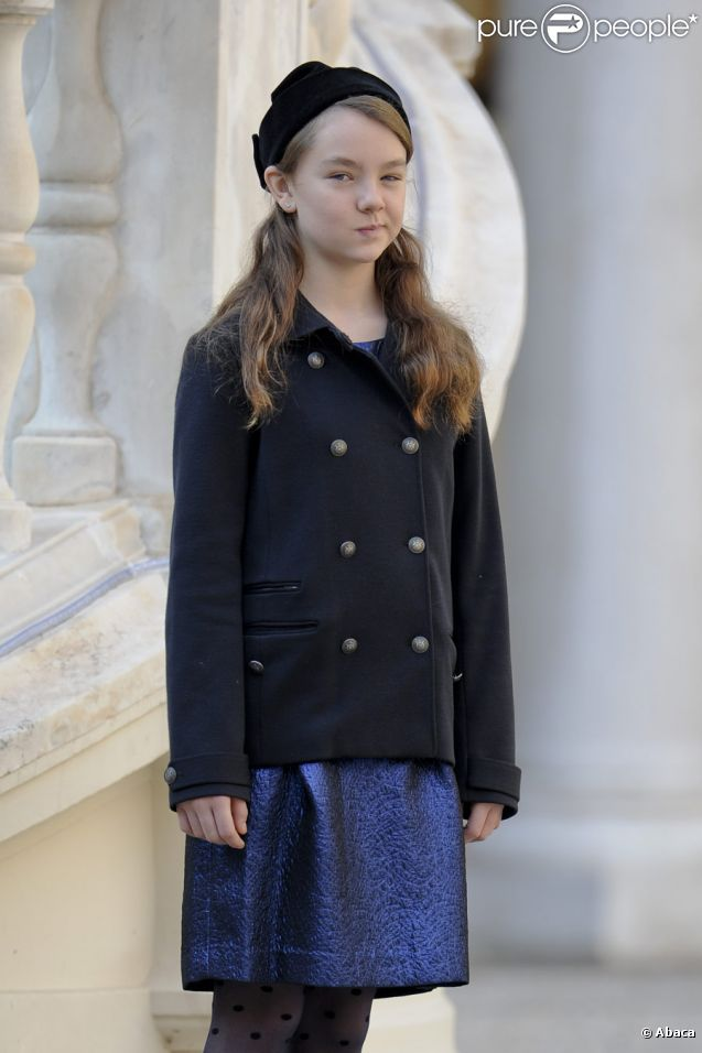Princesse Alexandra de Hanovre lors de la fête nationale monégasque, le  19 novembre 2011