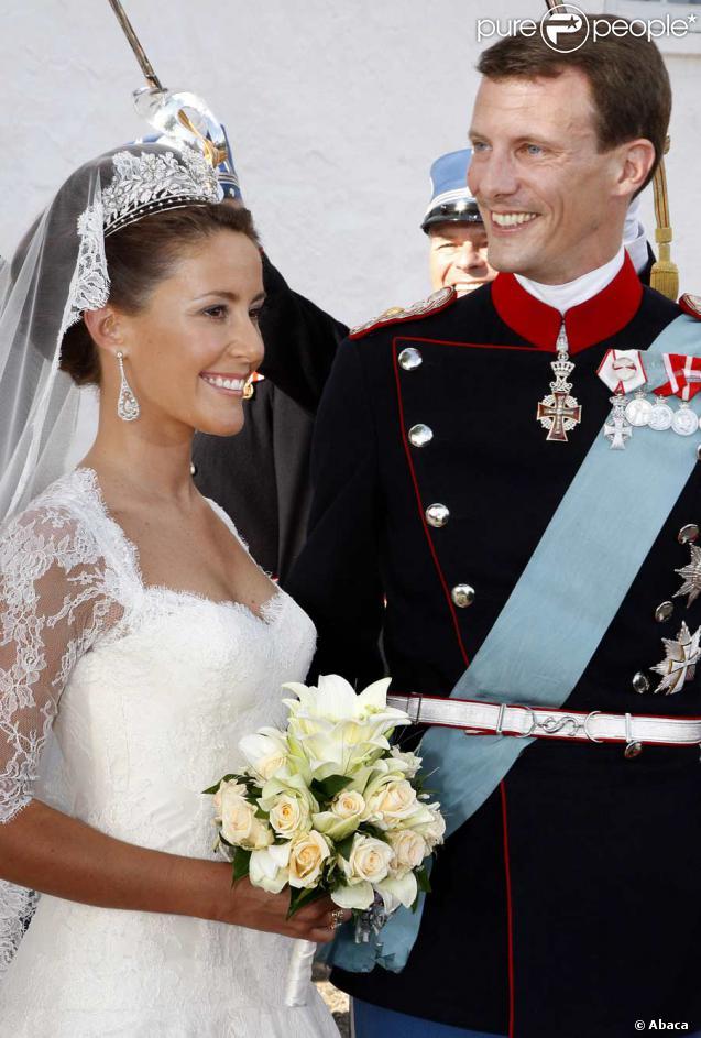 Marie Cavallier et Joachim de Danemark