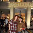Emma de Caunes et Emilie Dequenne lors de la soirée d'inauguration de Marks & Spencer au Fouquet's à Paris