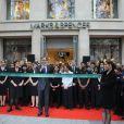 Ouverture officielle de Marks & Spencer à Paris le 24 novembre 2011 dans la matinée.