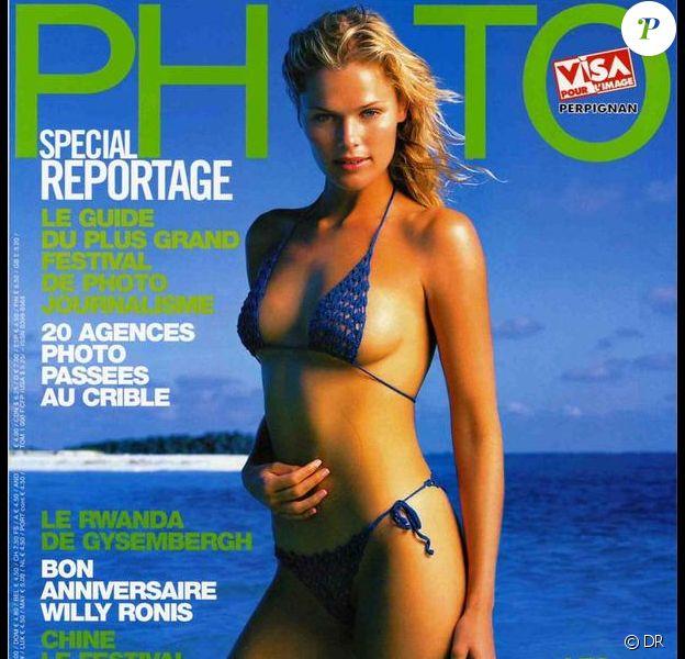 Camilla Vest en une du magazine Photo