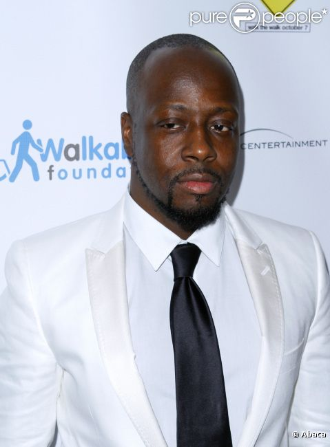 Wyclef Jean, en octobre 2011 à New York City.