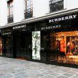 Boutique Burberry rue du Faubourg Saint-Honoré