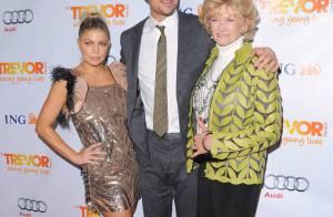 Fergie heureuse avec son mari et sa belle-mère, devant Amber Heard hypnotique