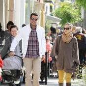 Jessica Alba : Avec son homme et son bébé, la super maman ne passe pas inaperçue