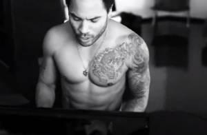 Lenny Kravitz, torse nu, dévoile des moments intimes pour le clip Push