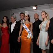 Miss France 2012 : Premier shooting pour Delphine Wespiser, c'est déjà une pro !