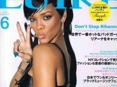 Rihanna sexy et de cuir vêtue pour un magazine nippon !