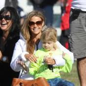 Denise Richards : Sa fille Sam est une digne héritière de David Beckham