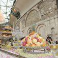 Banquet inoubliable au défilé Chanel Paris-Bombay au Grand Palais