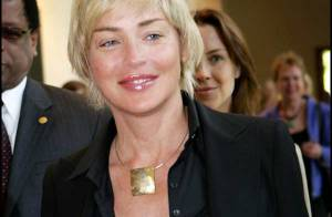 PHOTOS : Sharon Stone court le monde, contre le Sida