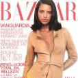 Adriana Lima, tout juste 19 ans à l'époque, en Une du Harper's Bazaar espagnol. 2000.