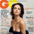 La très sexy Adriana Lima met l'Allemagne à genou avec cette Une du magazine GQ. Juillet 2011.