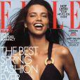 Mars 2003 : Adriana Lima posait en couverture du magazine Elle.