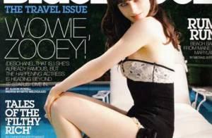PHOTOS : Zooey Deschanel se la joue sexy pour le magazine 'BlackBook'