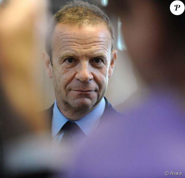 François-Marie Banier au tribunal de Nanterre, le 1er juillet 2010.