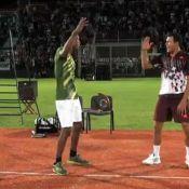 Gaël Monfils : Un danseur fou sur les courts avec son pote Jo-Wilfried Tsonga