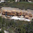 Maison de Gisele Bundchen et Tom Brady en construction, en avril 2010