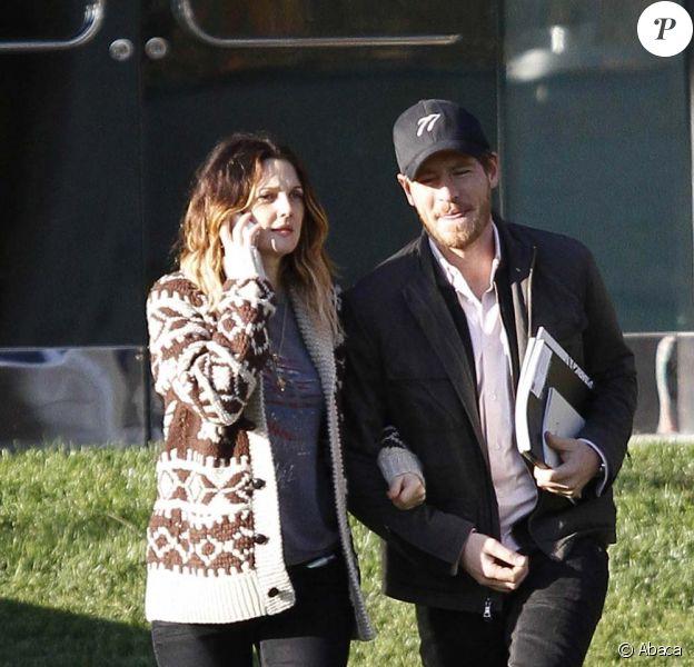 Drew Barrymore et Will Kopelman à Los Angeles, le 20 décembre 2011.