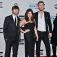 Charles Kelley, Hillary Scott, and Dave Haywood of Lady Antebellum, à Los Angeles, en novembre 2011