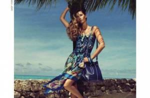 Gisele Bündchen : Vacancière chic, elle monopolise le monde de la mode