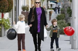 Sharon Stone: La maman star et ses deux jeunes fils s'isolent avant le réveillon