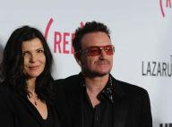 Bono, entouré des trois femmes de sa vie, fait un cadeau aux paparazzi