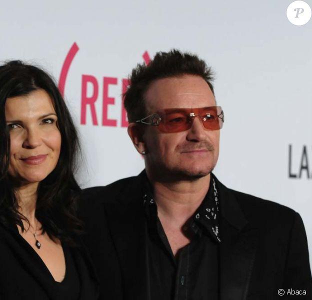 Bono et sa femme Ali Hewon à New York, le 6 mai 2010.