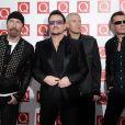Bono et U2 à Londres, le 24 octobre 2010.