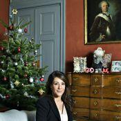 La princesse Marie, enceinte de 7 mois et superbe, reçoit chez elle et se confie