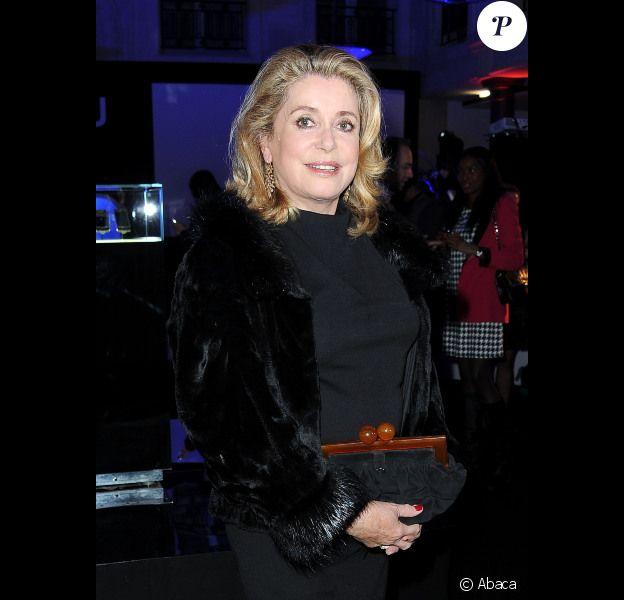 Catherine Deneuve le 8 novembre 2011 à Paris