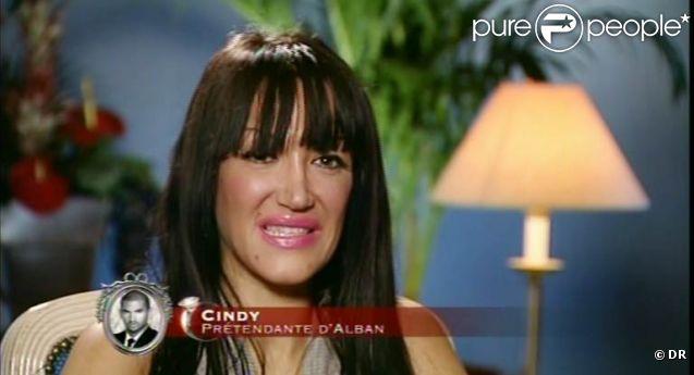 Cindy, prétendante d'Alban, dans  Qui veut épouser mon fils ?