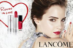 Emma Watson se mue en femme fatale pour Lancôme