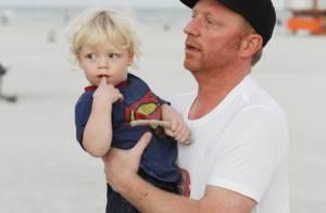 Boris Becker : Sortie entre hommes avec ses adorables fils, loin de leurs mères